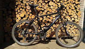 De beste mountainbike, uitstekend te gebruiken voor de amerongseberg